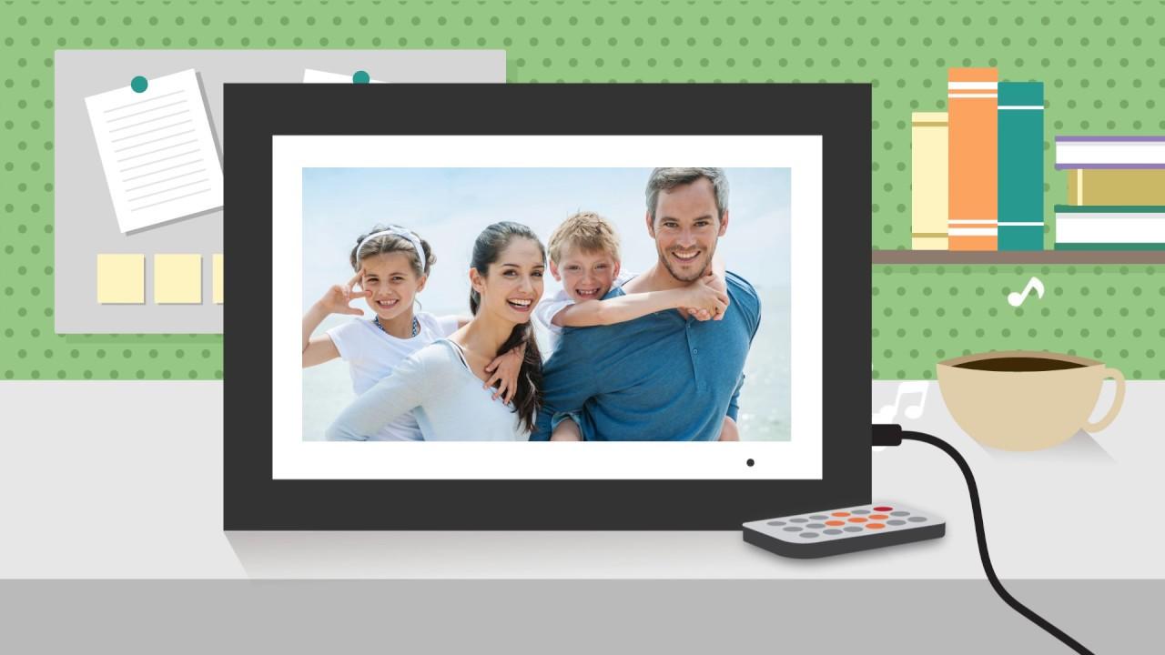Aluratek 14 inch Digital Photo Frame - Product Spotlight