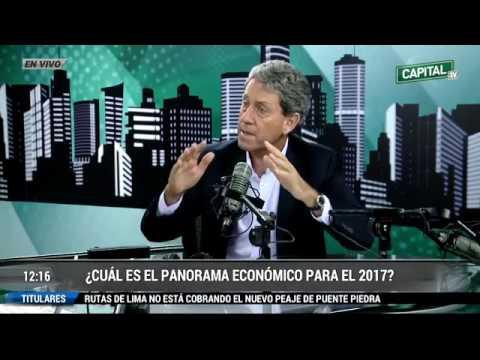 Entrevista al Ministro de Economía y Finanzas, Alfredo Thorne en Radio Capital