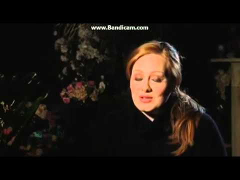 Adele talking about her first TV appearance on Jools Holland
