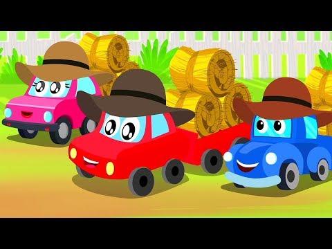 год повернул круг   песни для детей   русские рифмы   Year Has Turned Circle   Little Red Car Russia