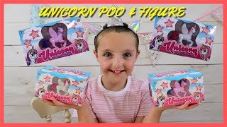 I really enjoyed reviewing these unicorn poo & figure sets that i c...