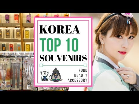 Top 10 Things to Buy in Korea   KOREA TRAVEL GUIDE
