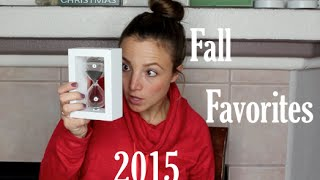 Our End Of Fall Favorites | 2015