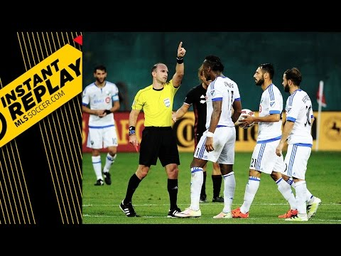 INSTANT REPLAY: Did Drogba deserve a red?