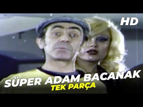 Süper Adam Bacanak | Aydemir Akbaş Eski Türk Filmi Full İzle