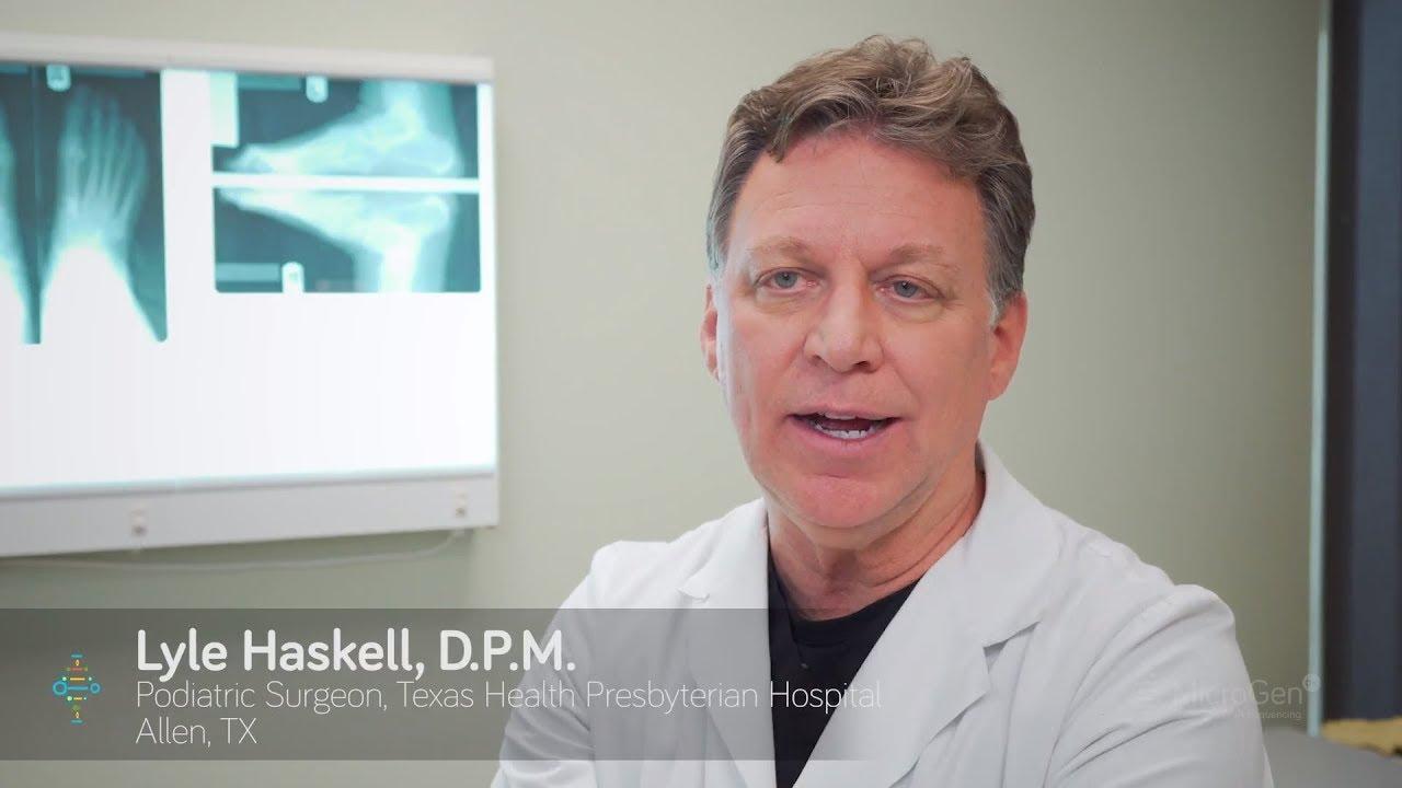 MicroGen DX Helps Podiatrists Deliver Treatment Faster
