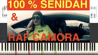 100 % Senidah & Raf Camora Piano Cover