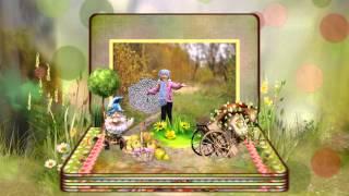 Детский фотоальбом - шаблон слайд-шоу
