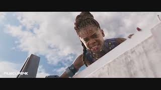 Black Panther Vs Killmonger   Final Battle   Fight Scene   Black Panther 2018 Movie CLIP HD