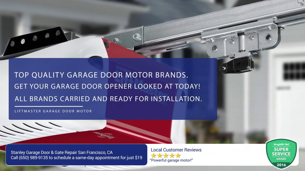 Stanley Garage Door Gate Repair Garage Door And Gate Repair