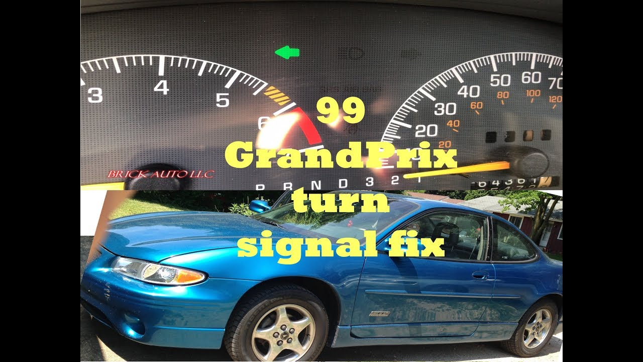 small resolution of gm flasher turn signal fix 99 pontiac grand prix blinkers only blink intermittently