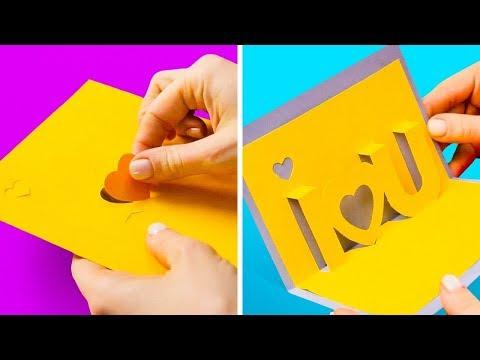 Как сделать открытку к дню матери