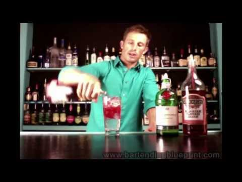 DIVE BARTENDING: Singapore Sling Drink Recipe