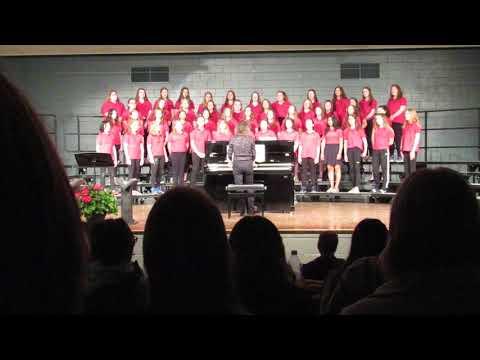 "5/23/19 7th grade Chippewa Falls middle school. ""Music of Life"""