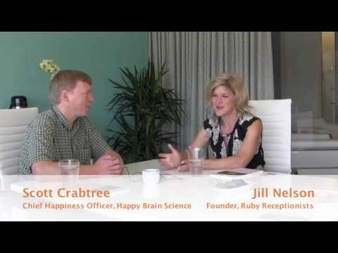 Happy Brain Science interviews Ruby Receptionists