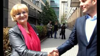 Krystyna Krzekotowska w kampanii samorządowej i parlamentarnej