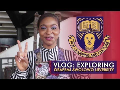 EXPLORING OBAFEMI  AWOLOWO UNIVERSITY OAU IFE | Vlog #7