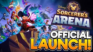 DISNEY SORCERER'S ARENA   Official Launch Gameplay!