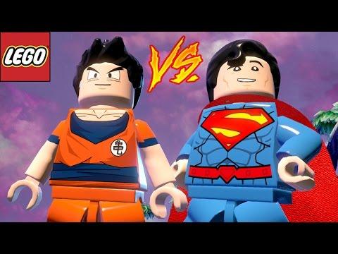 GOKU VS SUPERMAN - LEGO Batman 3 | Briga de Herois #139