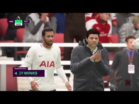 FIFA 18 Aresenal FC Vs Tottenham hotspur @ Emirates Stadium