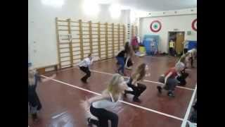 Современные танцы обучение для девушек. Черлидинг
