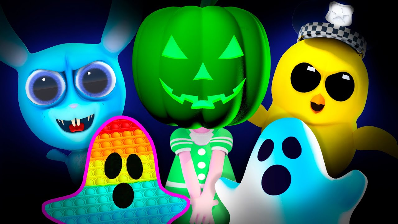No No, Play Safe at Halloween! Boo Boo Song and Trick or Treat Nursery Rhymes + Good Habits for Kids