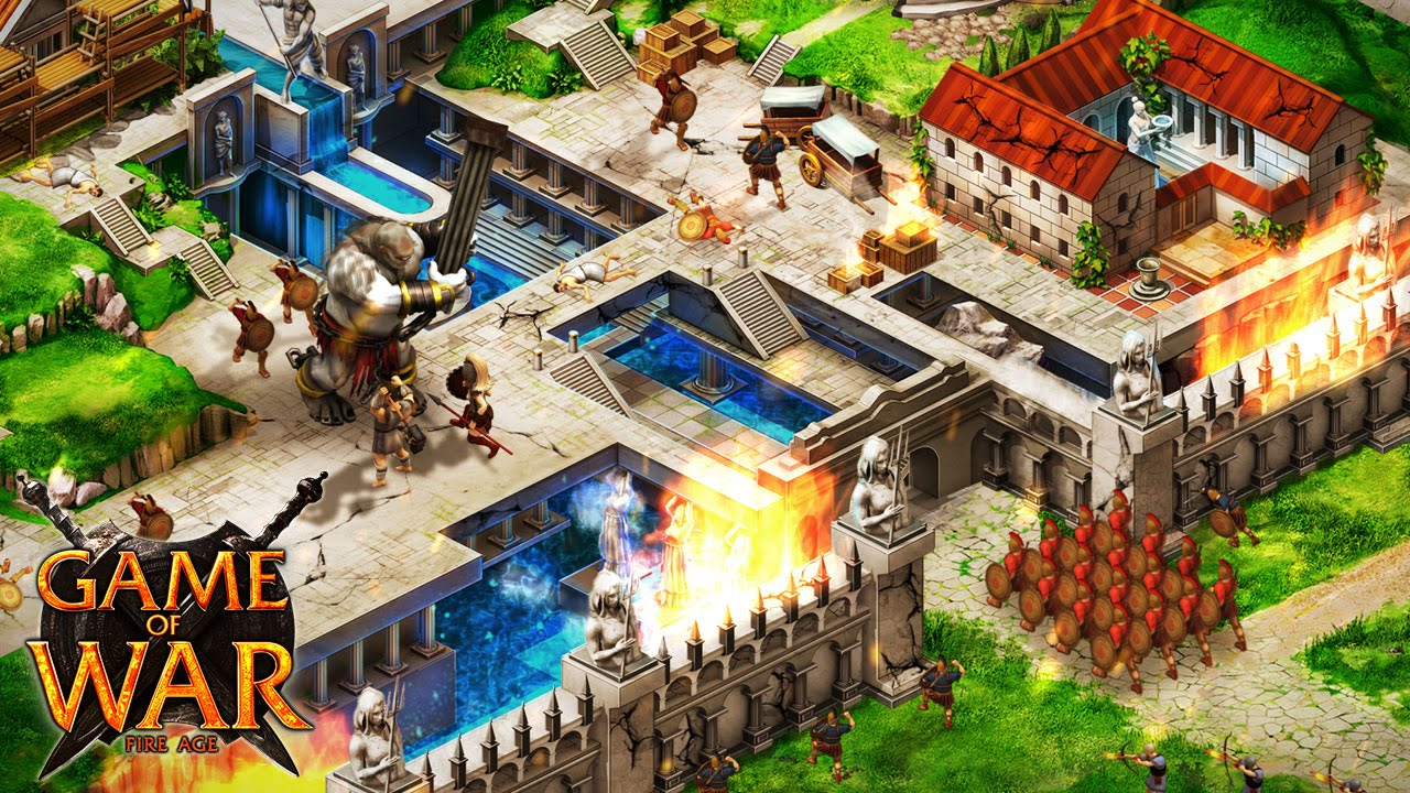 game of war action