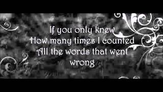 If You Only Knew-Shinedown (lyrics)