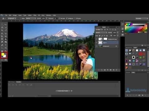Photoshop Tutorial : Using Gradient Tool In Photoshop CS6