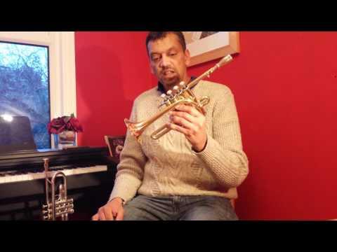 The Coppergate Bb/A Piccolo Trumpet