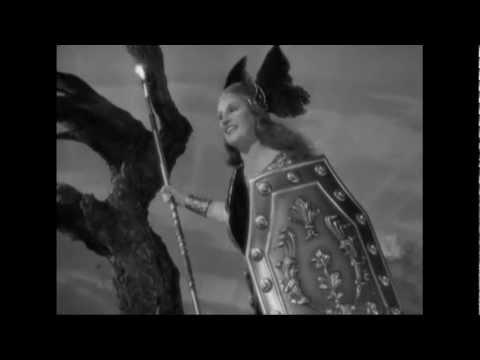 Kirsten Flagstad - Brünnhilde's battle cry