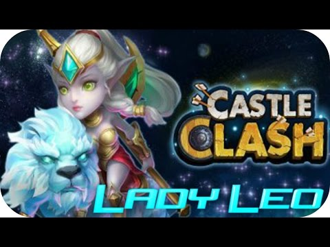 Lady Leo IN ACTION!!! Castle Clash