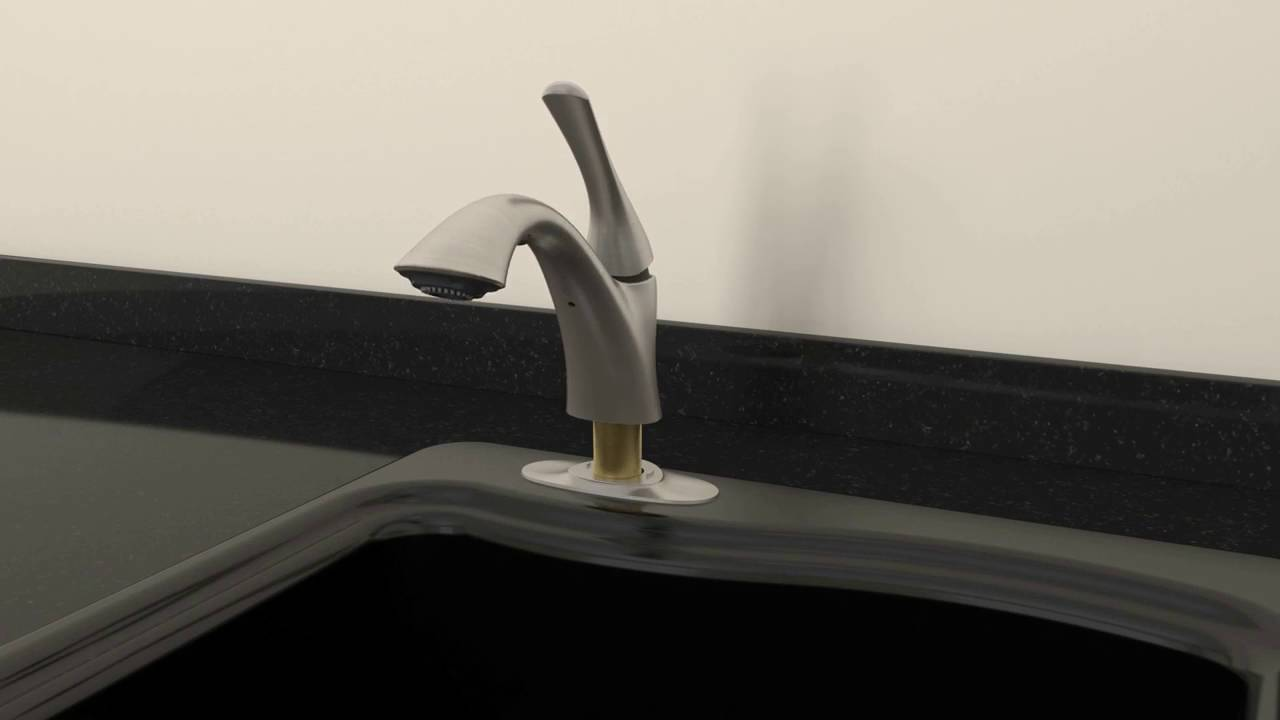 Installation – Mistos Pull Out Laundry Sink Faucet from Kohler - YouTube