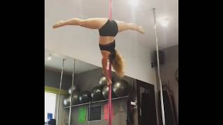 Today's Pole Dance Training