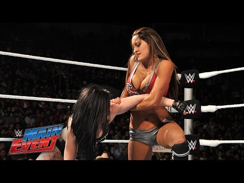 Paige vs. Nikki Bella: WWE Main Event, January 6, 2015