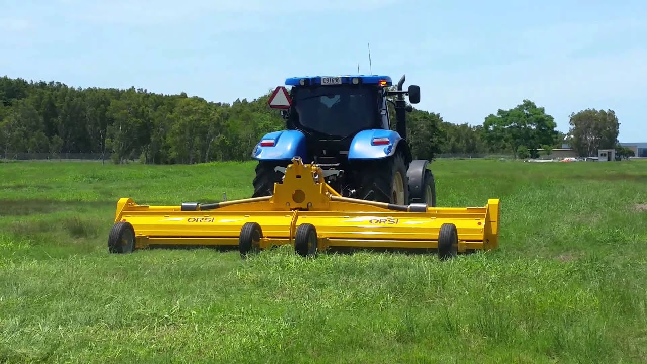 Orsi Maxim 6000 wide-area flail mower