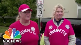 Two Female Donald Trump Supporters Weigh In On His Alicia Machado Twitter Rant   NBC News