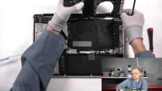 """Чистка от пыли и замена термопасты на MacBook Pro A1286 15"""" 2011"""