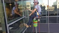 Mad skillz. High rise Window Cleaning, Rope access, Seattle