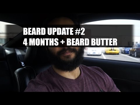 4 Months of Beard Growth (125 days) | Beard Update #2