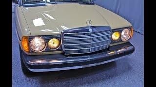 1983 Mercedes-Benz 300TD Turbo Diesel Wagon - Midwest Auto Collection Test Drive