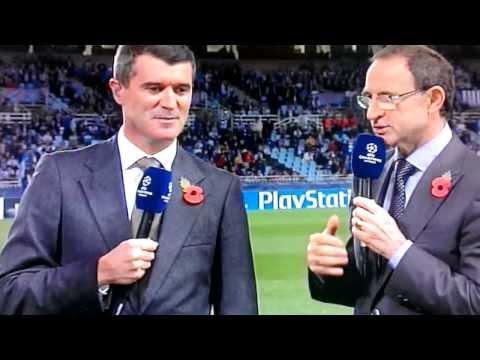 Roy Keane and Martin O'Neill reaction to Ireland Job ITV