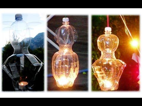 Bricolage Con Bottiglie Di Plastica.Lanterne Diy Con Bottiglie Di Plastica Fai Da Te Youtube