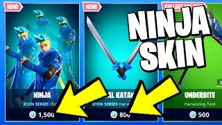NINJA SKIN *RIGHT NOW* & HOW PEOPLE GOT THE FREE POM POM EMOTE (FORTNITE ITEM SHOP REFRESH)