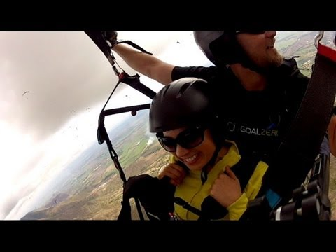 Ginger Zee Goes Paragliding in Colombia