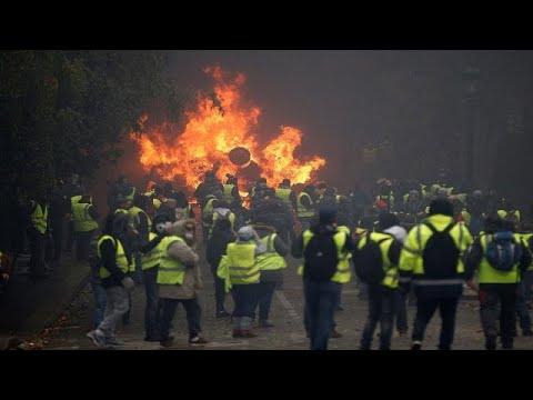 Bildergebnis für youtube videos zur aktuellen lage der gelbwesten in frankreich
