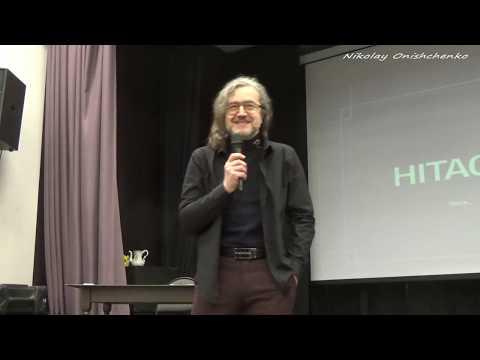 Купный Александр в Москве с лекцией о ЧАЭС