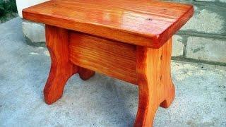 Как сделать табурет за 2 часа(Сделать самому маленький деревянный табурет своими руками под силу практически каждому. Смотрите как..., 2015-10-10T07:54:37.000Z)