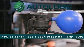 Best Way to Bench Test a Leak Detection Pump LDP