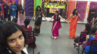 Rajasthani Fest 2016 First years' dance